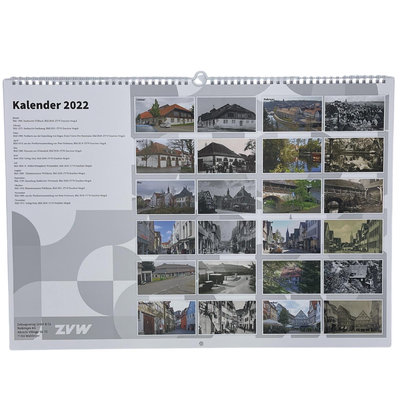 """Kalender """"Damals und Heute"""""""