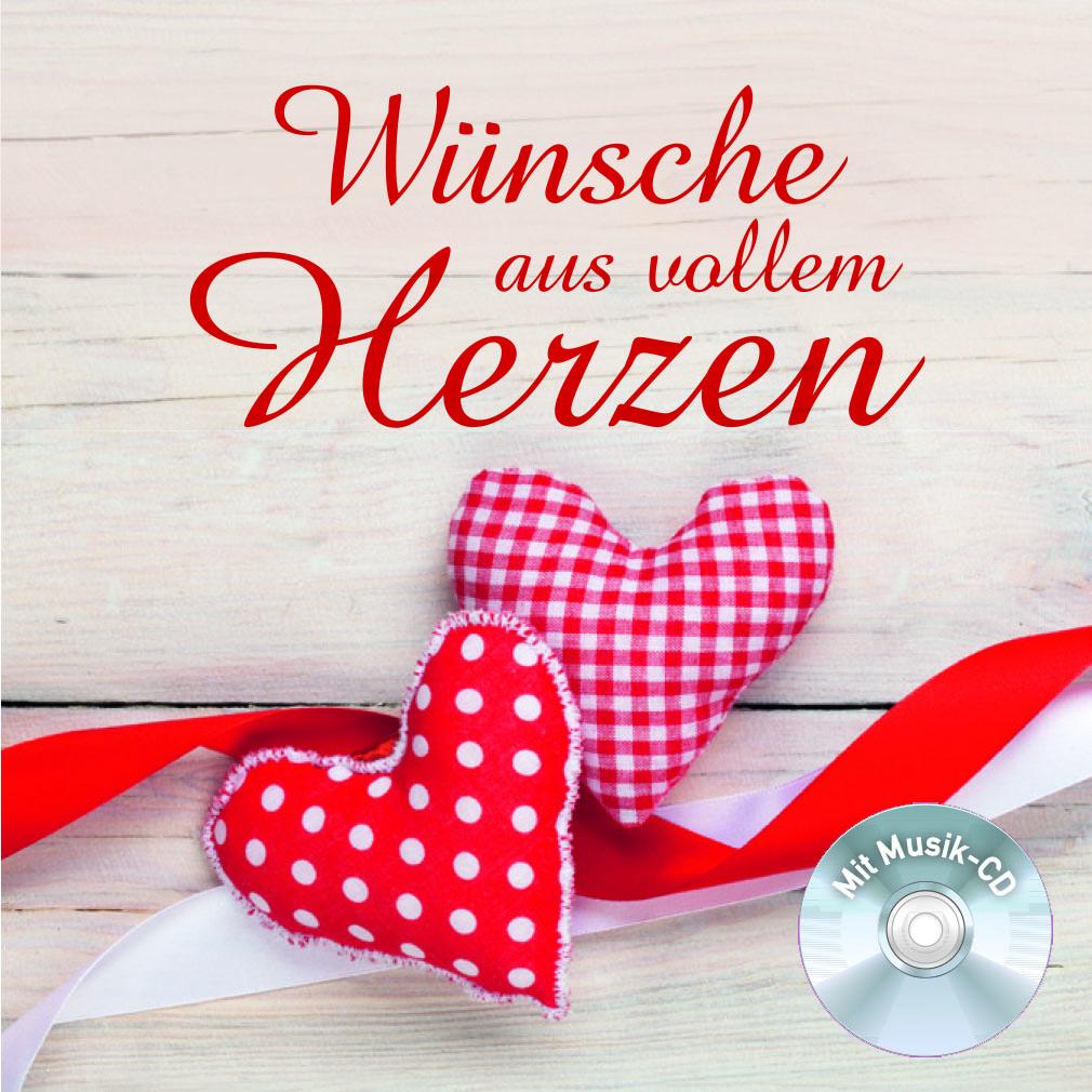 Geschenkbuch: Wünsche aus vollem Herzen