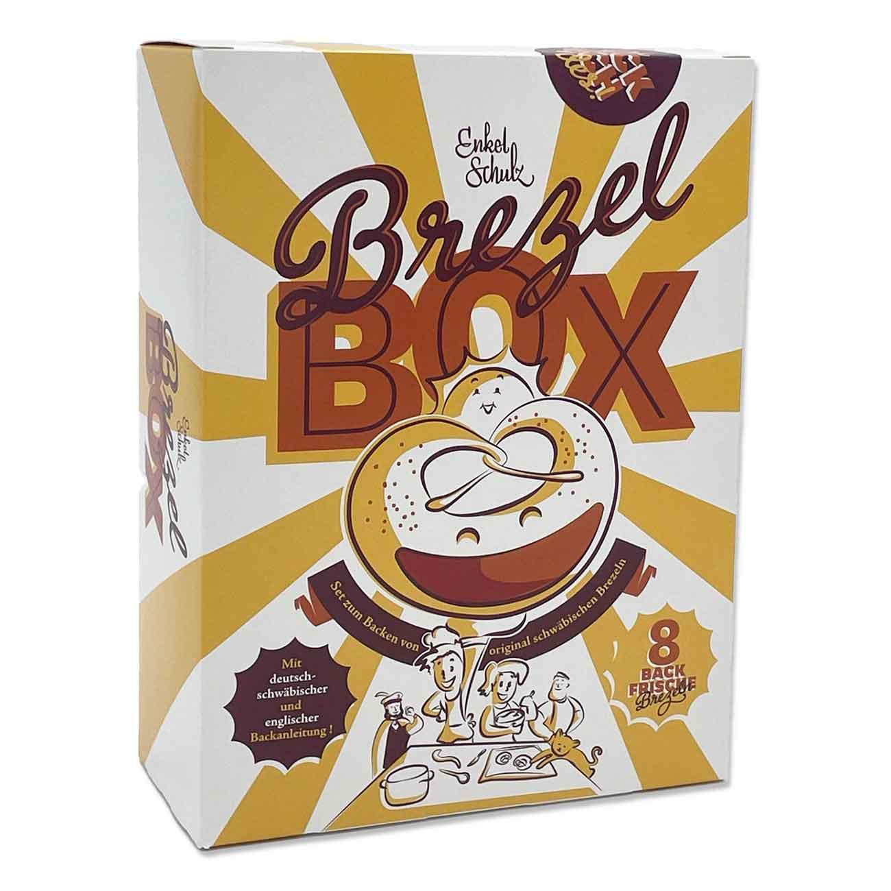 Brezelbox mit Wein