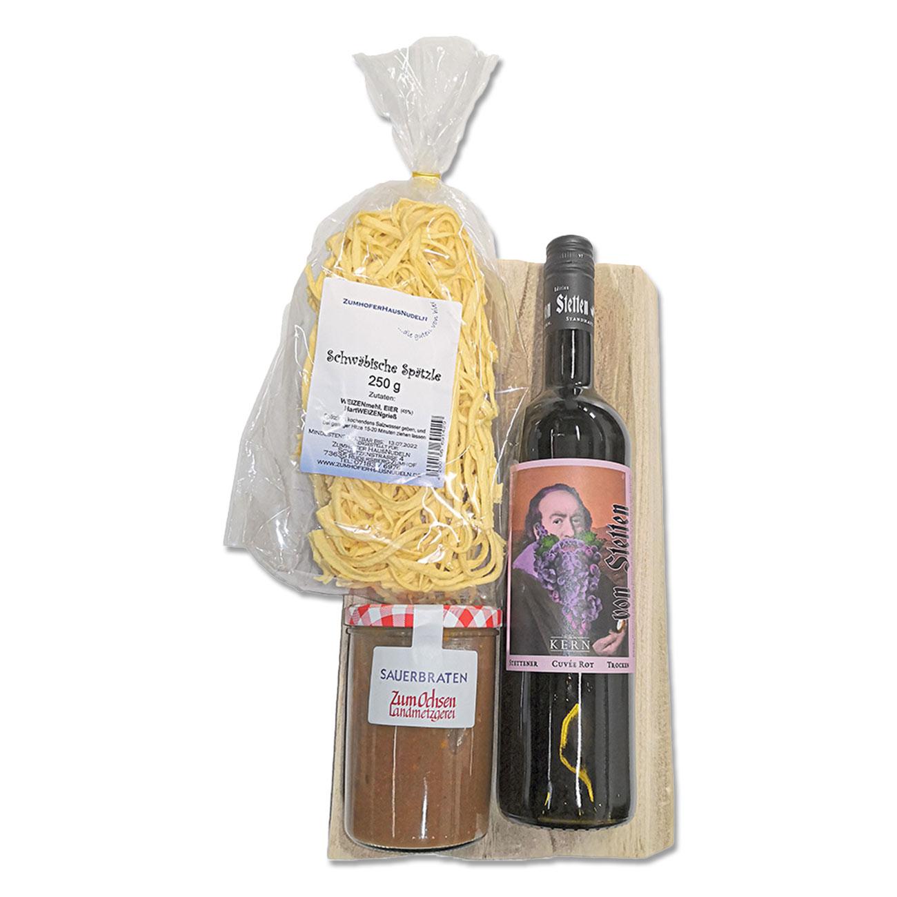 """Paket """"Wein und Sauerbraten"""""""