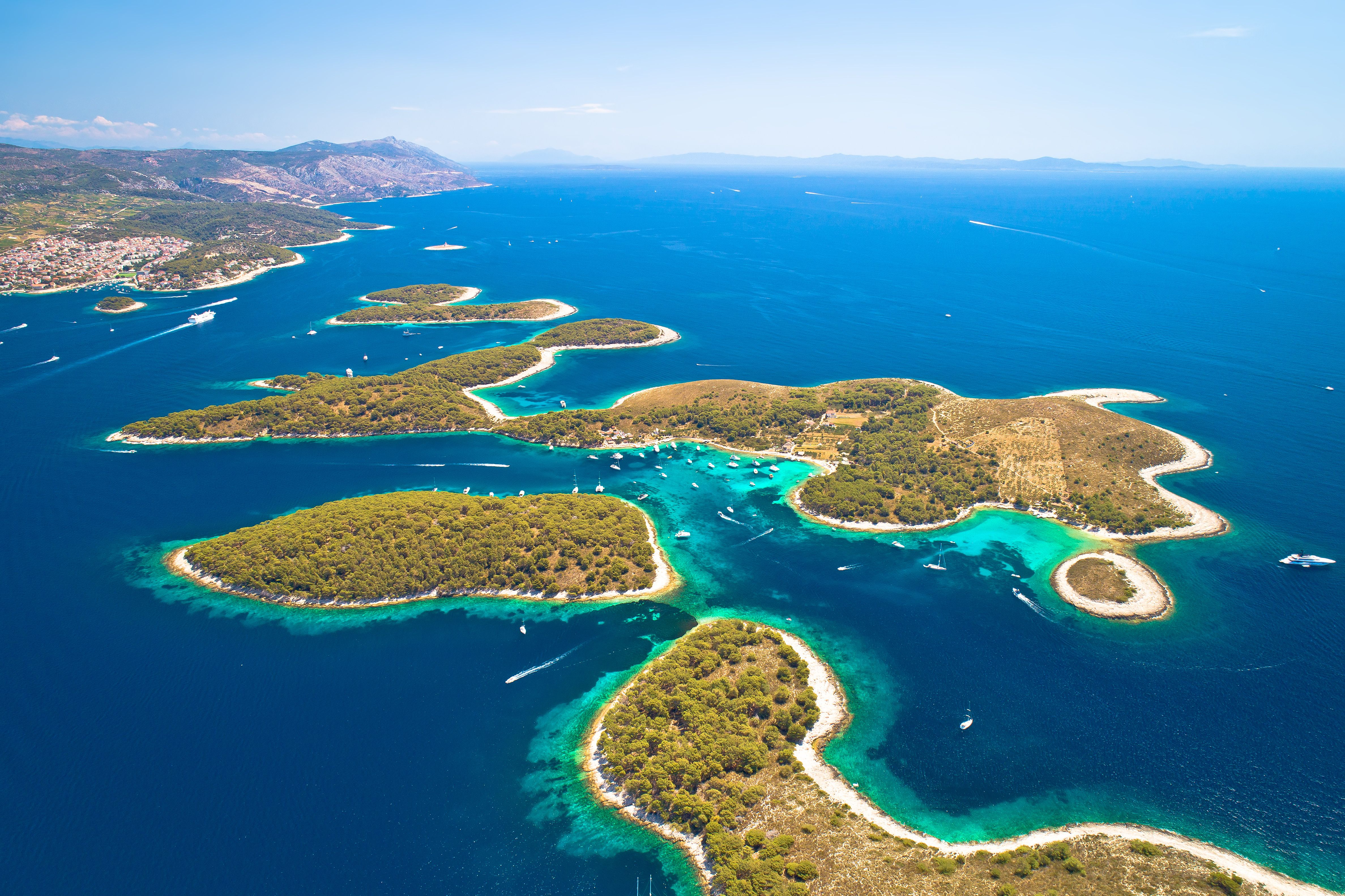 Dalmatiens Inseln per Yacht entdecken