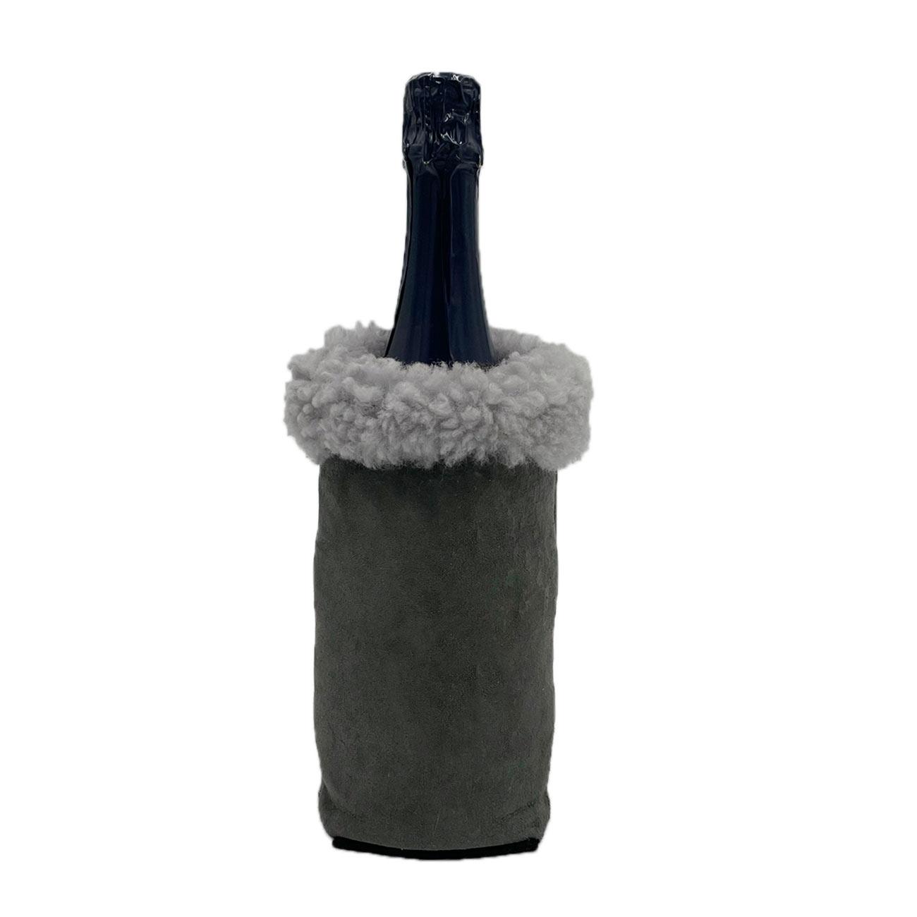 Flaschenkühler aus Schaf-Fell