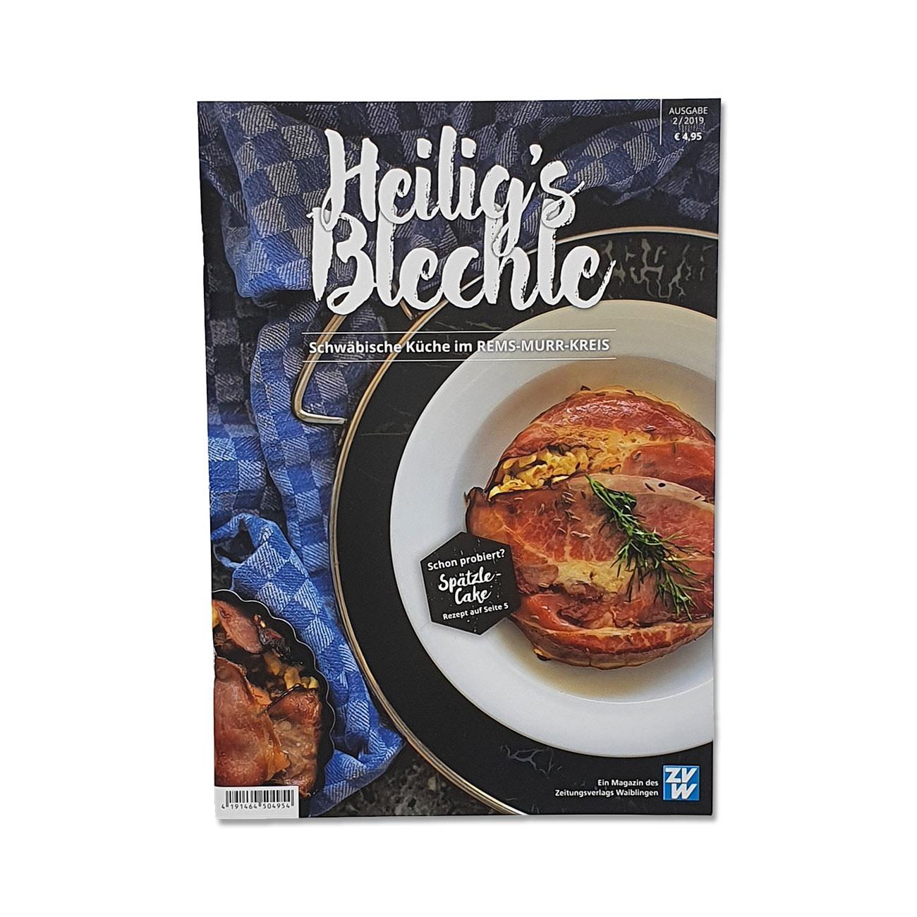 Heilig's Blechle Schwäbische Küche