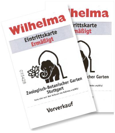 Wilhelma (Tageskarte)