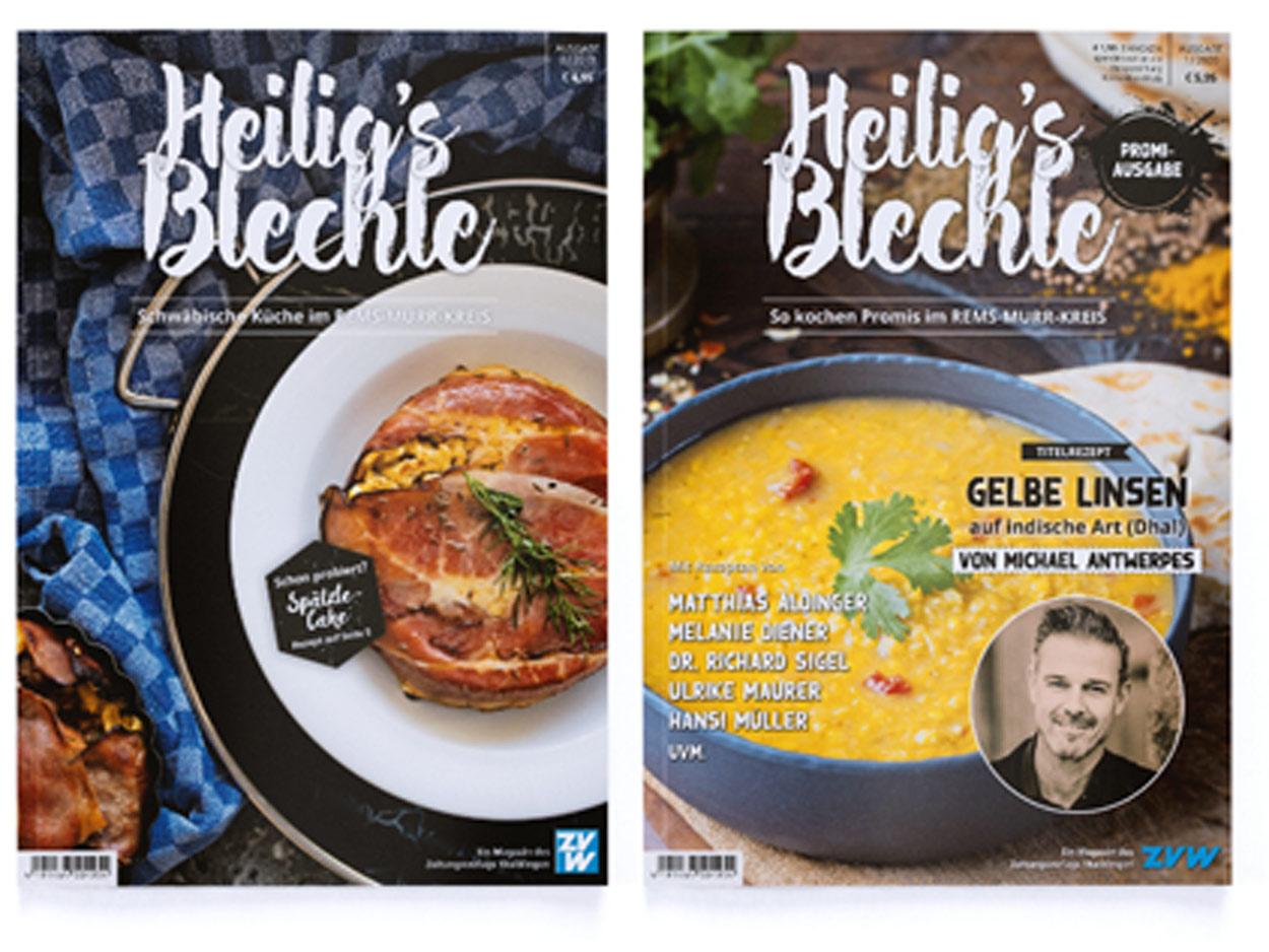"""Bundle: Heilig's Blechle """"Promi-Ausgabe"""" und """"Schwäbische Küche"""""""