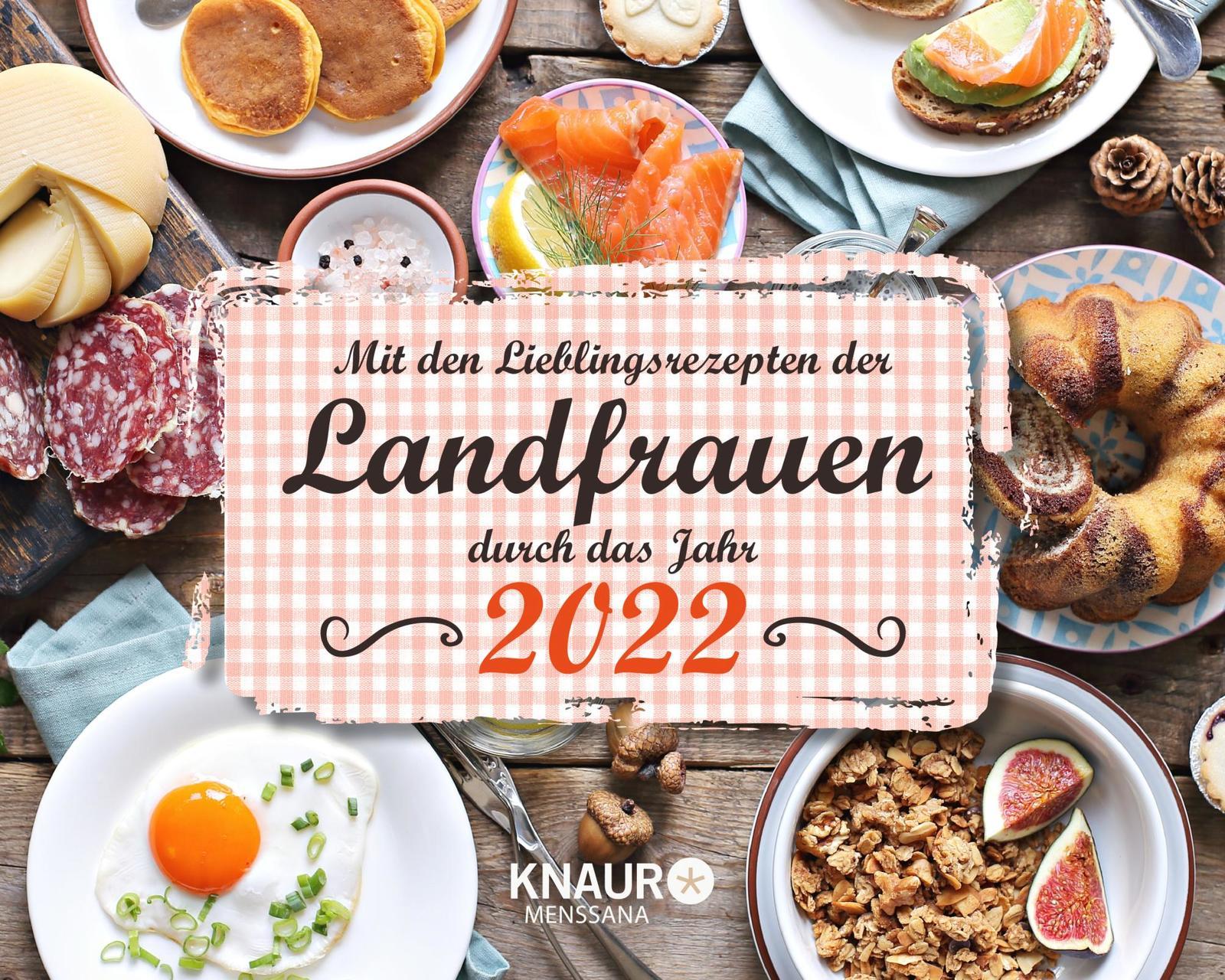 "Kalender ""Landfrauenrezepte 2022"""