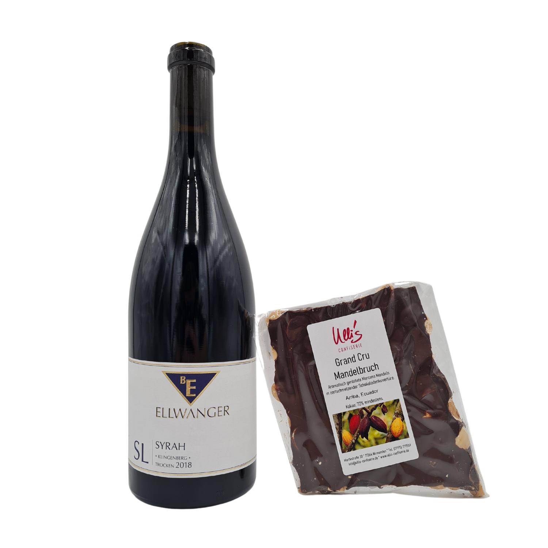 Premium Weinpaket SL Syrah mit Mandelbruch