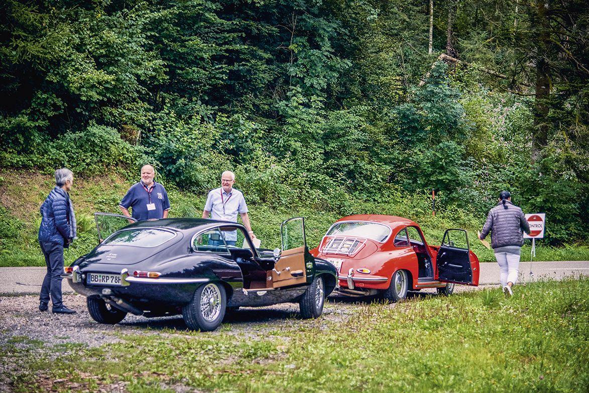 Oldtimerfahrt über die schwäbische Alb nach Meßkirch für 2 Personen