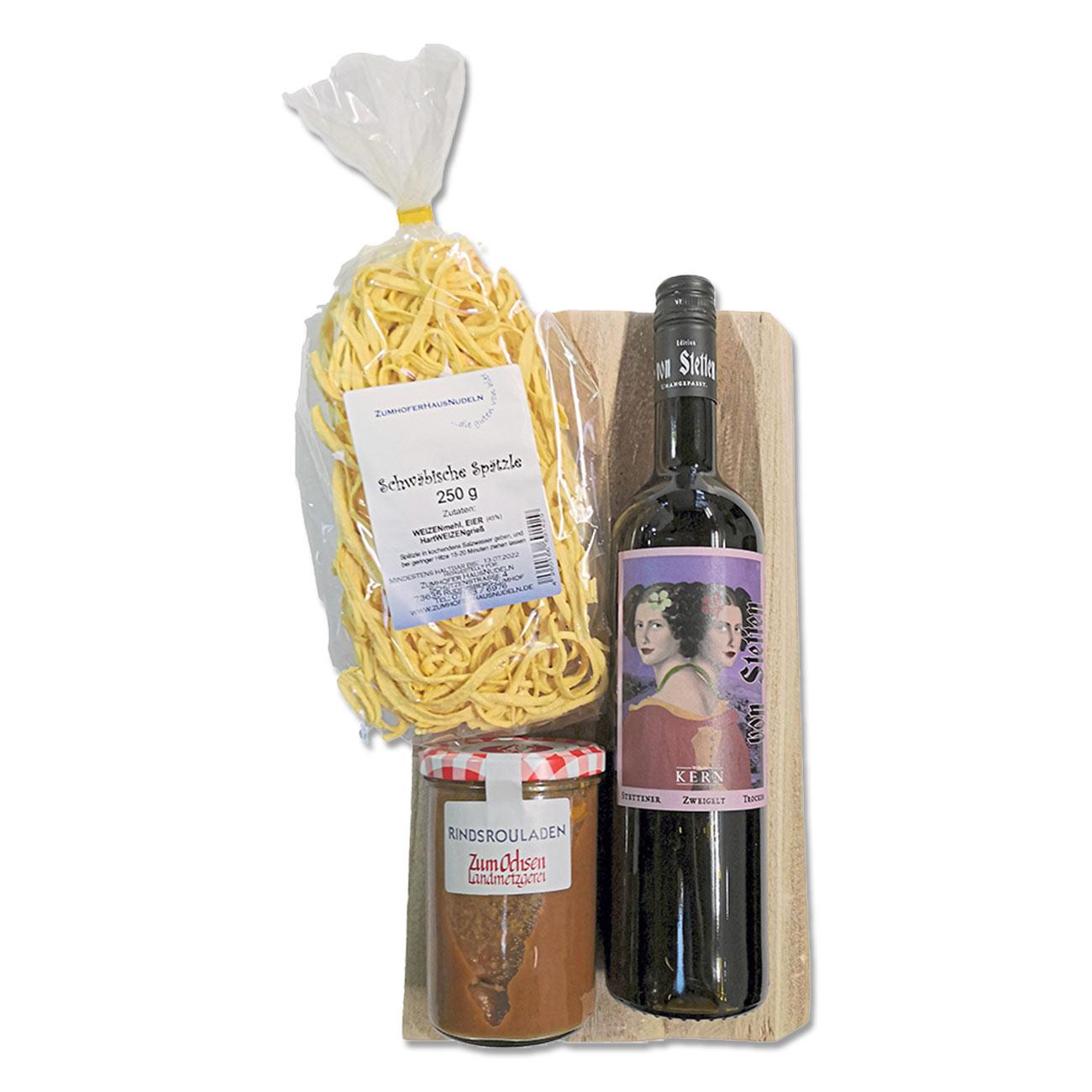 """Paket """"Wein und Roulade"""""""