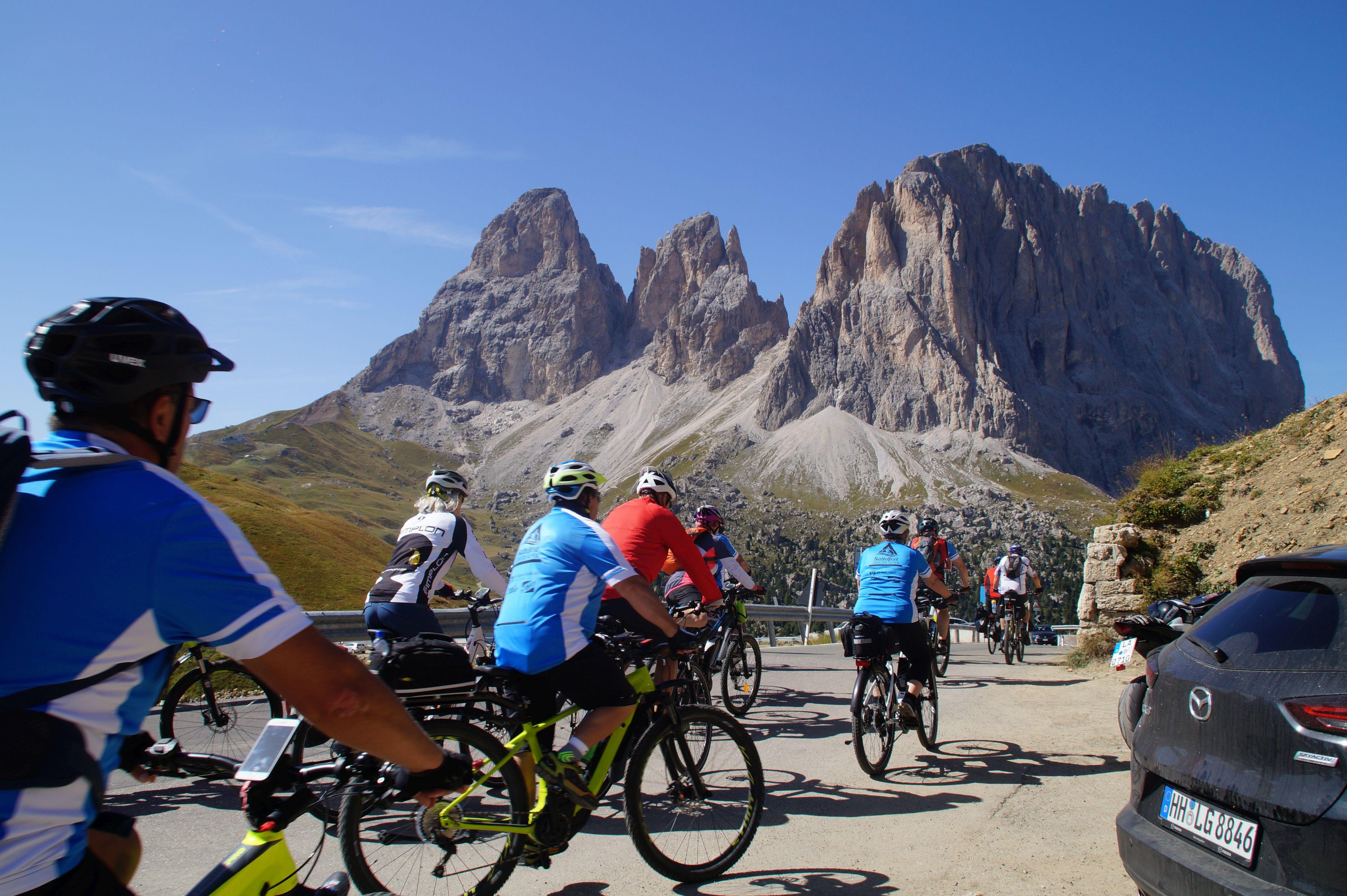 E-Bikereise Dolomiten