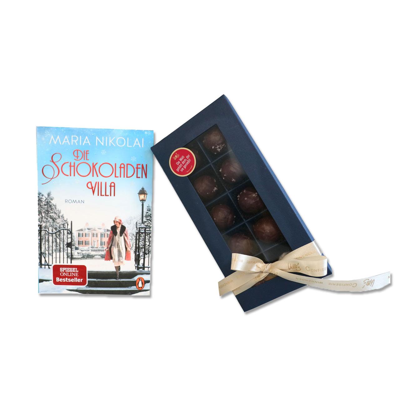 Die Schokoladenvilla Band 1 und Karamellpralinen