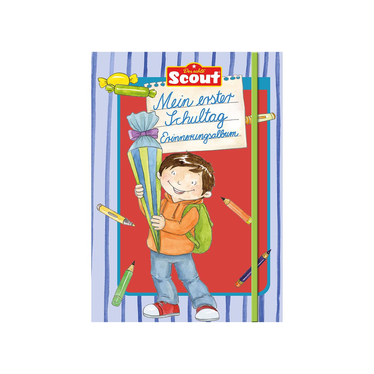 Scout - Mein 1. Schultag Erinnerungsalbum Jungs