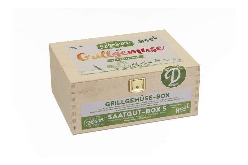 Grillgemüse Saatgut-Box S