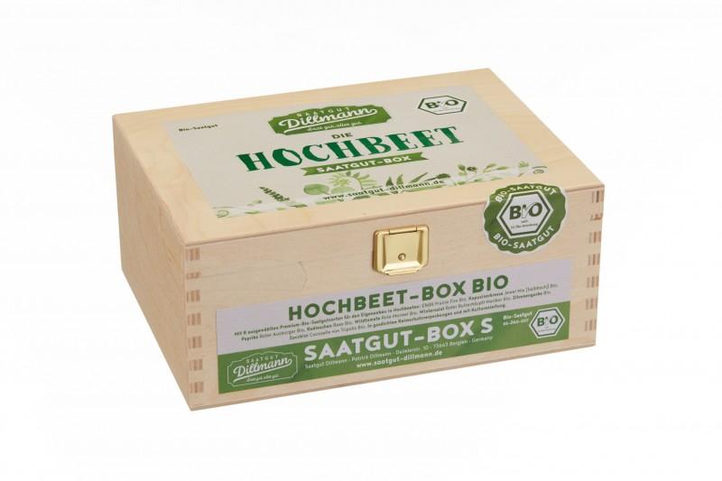 Hochbeet Saatgut-Box S Bio