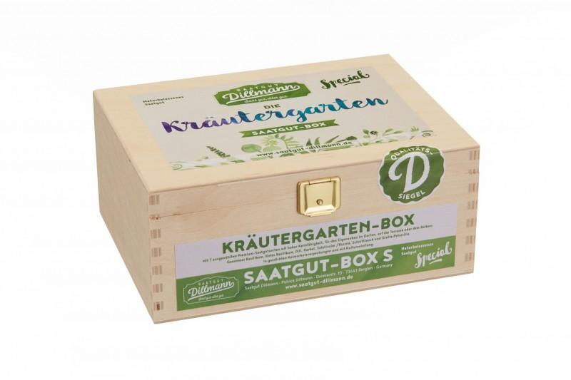 Kräutergarten Saatgut-Box S