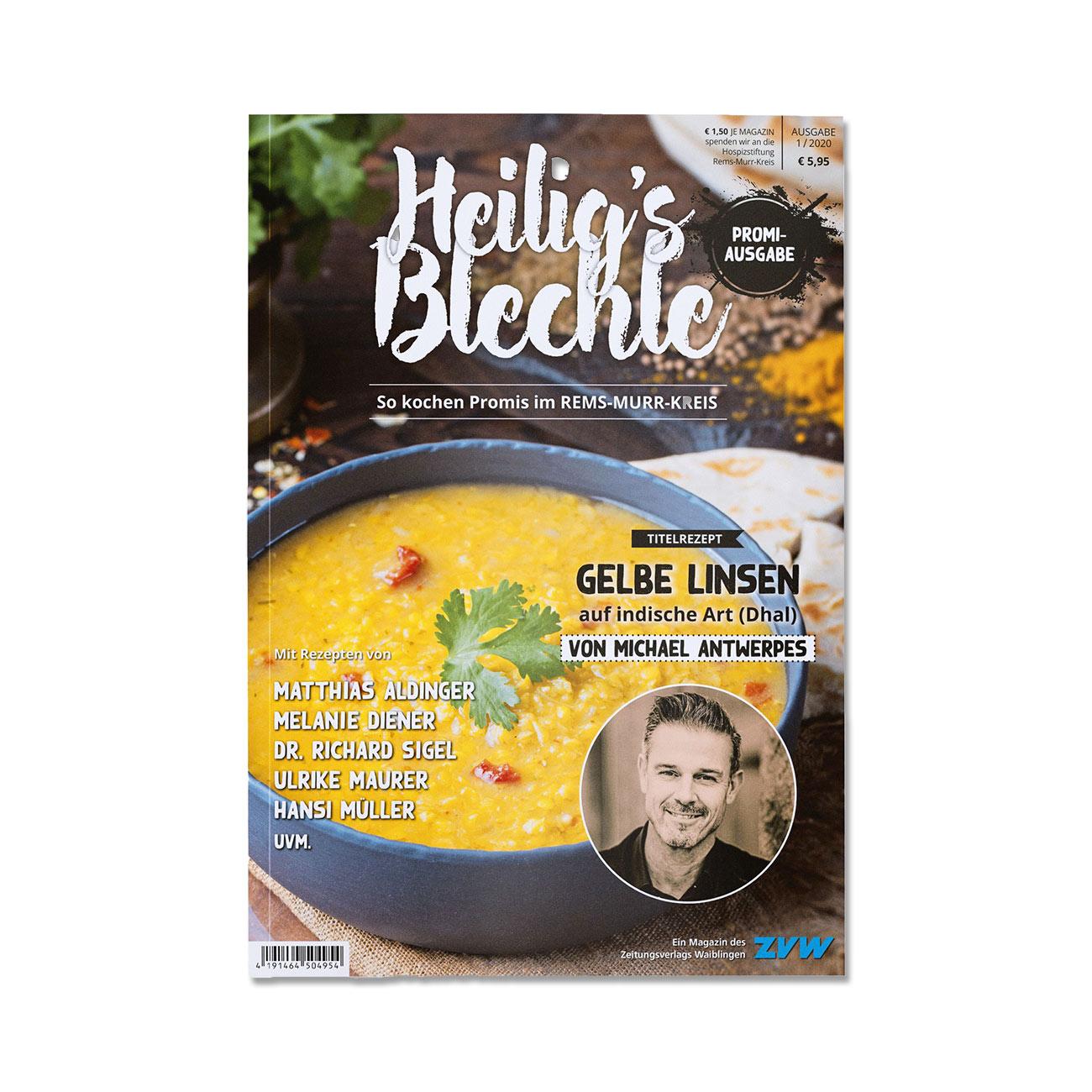 """Heilig's Blechle """"Promi-Ausgabe"""""""